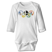 Nngogoing 2016 Rio Olympic Games Logo Long Sleeve Romper Climbing Clothes For Baby's
