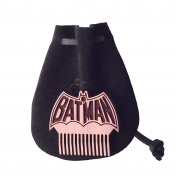 Batman Baby Beard & Musatche Coin Pocket Comb W/ Handmade Leather Pouch By Beard Gains