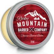 Beard Balm - Unscented - 100% Natural - Premium Wax Blend with Nutrient Rich Bees Wax, Jojoba, Coconut Oil