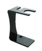 Colonel Conk 179 Black Acrylic Double Edge Razor/ Straight Edge Razor/ Straight Razor Stand