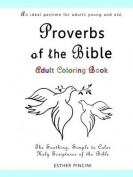 Proverbs of the Bible Adult Coloring Book
