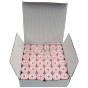 Style L Pre Wound bobbins White SuperB Embroidery Polyester thread, Box of 144