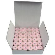SuperB prewound Style L (Small) White Polyester Pre-Wound Bobbins thread, Box of 144