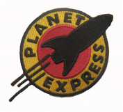 FUTURAMA The Planet Express sew iron on Patch Badge Embroidery