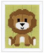 Long Stitch Kit: Lion