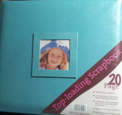 Top-loading Scrapbook - Aqua