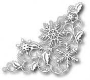 Tutti Designs Thin Metal Die - Snowflake Corner - Tutti-118