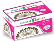 PARTH IMPEX 100 Extra Large Sturdy Safety Pins 2 Inches / 50 mm, Sewing Craft Pin Needles (Pack of 100 Pin) Nickel Polished