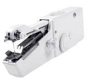 Siensync Handheld Sewing Machine - Portable Household Quick Handy Stitch Tool Great for Travelling or Use in Home Includes Threads Needles Accessories