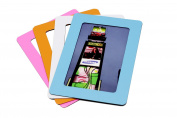 Set of 4 Classical Magnetic Picture Frames 10cm ×15cm Magnetic Fridge Frame Perfect for Holding Notes Files and Photos