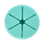 XILALU Soft Flexible Durable Milti Wearable Nail Polish Bottle Holder Bottle Rack Fits All Finger