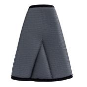 Gilroy Kids Car Safety Cover Strap Adjuster Pad Harness Seat Belt Clip - Black