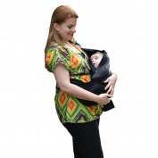 Corewill Baby Wrap Sling Carrier for Newborns Breastfeeding Nursing Cotton