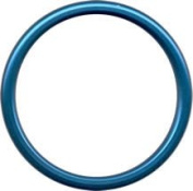 Sling Rings 'Blue' Aluminium Rings - Unwelded and Lead Free- Large