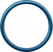 Sling Rings 'Blue' Aluminium Rings - Unwelded and Lead Free- Large