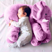 Super Soft Cute Big Stuffed Elephant Plush Doll Pillows, Baby Elephants Toys