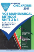 Cambridge Checkpoints VCE Mathematical Methods Units 3 and 4 2017 and Quiz Me More