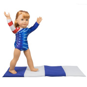 Gymnastics Outfit and Mat Set for American Girl Dolls