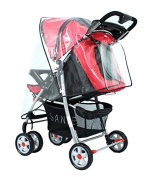 haoun Windproof Rain Cover for Large Buggy Baby Stroller