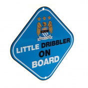 Official Manchester City FC Car Little Dribbler Sign