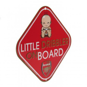 Official Arsenal FC Car Little Dribbler Sign
