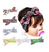 Enuo Cute Baby Rabbit Ear Headband Hair Bands Newborn Headbands