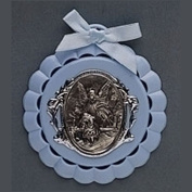 Roman Baby Cradle Medal in Gift Box