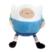 Adventure Time Finn Plush Ball 20x14x13cm Blue White