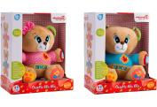 Globo Toys Globo - 5164 2 Assorted Vitamina_G Italian Speaking Plush Bear with Music and Functions