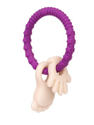 SEYSSO Baby Teething Accessories. GRAPE JUICE necklace teether.