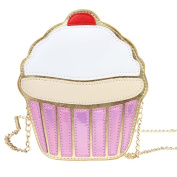 WEKA Women Chic Sweet Cute Cartoon Mini Ice Cream Cake Chain Crossbody Shoulder Bag