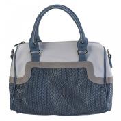 Lisa Kay 2 Tone Bowling Handbag
