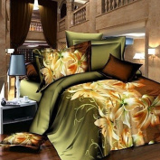 Baolisi Flowers 4-Piece Comfortable Plan Set