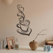 Xinantime Removable Decal Art Vinyl Coffee Wall Stickers