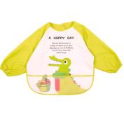 Baby Boy Girls Painting/ Eating Waterproof Bibs Children's Aprons/ Smock-A491