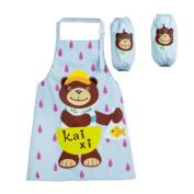 Kids Boy Girls Children's Painting/ Eating Waterproof Aprons/ Smock/Sleeves-A503