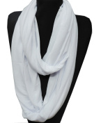 Soft Long Nursing Scarf Breastfeeding Cover Solid Colour