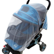 Kolylong Summer Safe Baby Carriage Insect Full Cover Mosquito Net Baby Stroller Bed Netting