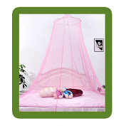 Hrph Summer New Royal Hung Dome Princess Mosquito Net Round Ceiling Hanging Dormitory Bed Nets