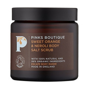 Pinks Boutique Sweet Orange and Neroli Salt Scrub 140 g