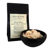 Natural Spa Factory Wild Rose Salt Scrub 250ml