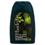 Badedas Revitalising Shower Gel, Shampoo & Conditioner 200ml