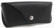 Gusti Leder studio Genuine Leather Glasses Sunglasses Case Holder Pouch Vintage Accessory Unisex Black 2A113-33-2