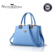 Nicole & Doris 2016 new simple wild fashion women handbag shoulder bag messenger bag