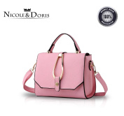 Nicole & Doris 2016 New buckle simple fashion shoulder bag handbag bag messenger bags