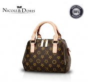 Nicole & Doris 2016 New stylish simplicity female motorcycle package handbag casual shoulder bag messenger bag
