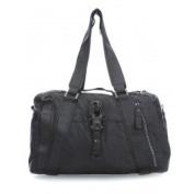 George Gina & Lucy Punch Whole Nylon Ohone Handbag black