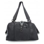 George Gina & Lucy Punch Whole Nylon Shortrange Handbag black