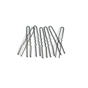 Basicare Black Medium Hair Pins 5cm 30 per pack