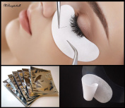 50 pairs Lint Free Under Eye Patch for Semi Permanent Eyelash Extensions- Silver Bags